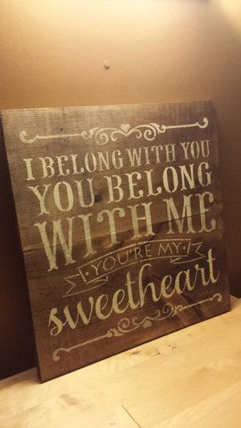 I BELONG WITH YOU – Kimber Creations