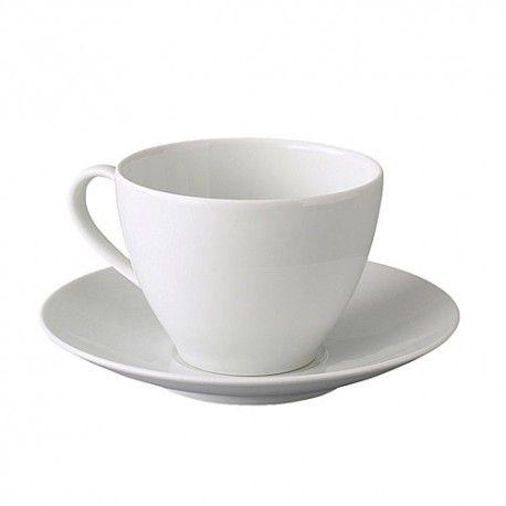 VÄRDERA Filiżanka/spodek do kawy, biały, 402.774.59, duża filiżanka do kawy, kubki z ikei, kubek ikea, ikea do restauracji