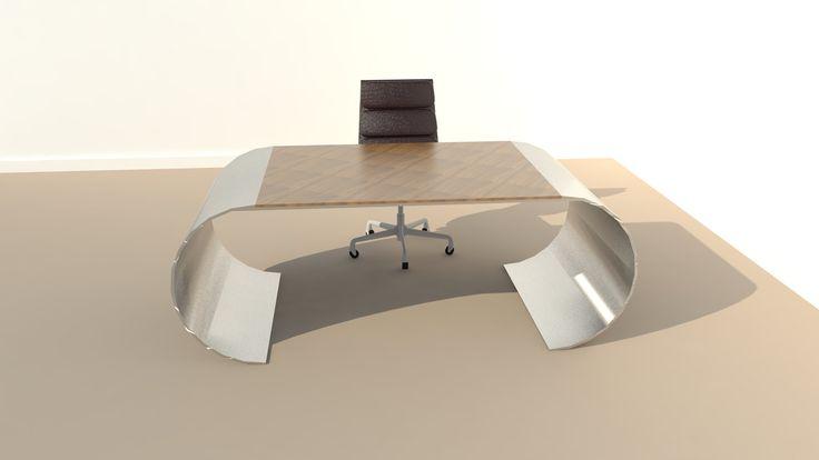 Modern Industrial Desk by Vintage Industrial Furniture