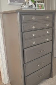 My Bedroom Redo – Chester Drawers Or Chest of Drawers Painted- Furniture