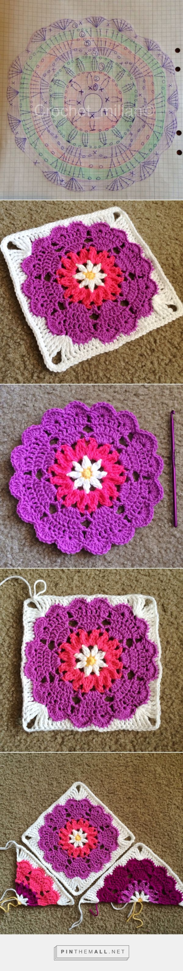 Heart Mandala: Octagon to Square   CypressTextiles - created via http://pinthemall.net