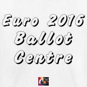 T-shirt : Euro 2016, BALLOT CENTRE  #tshirt #spreadshirt #benzema #deschamps #but #faute #JeuxdeMots #arbitre #crampons #ballon #humour #goal #drôle #gardien #FrancoisVille #football #terrain #frappe #Coupe #foot #carton #tacle #bleus #entraîneur #sport #footballeur #balle #équipe #edf