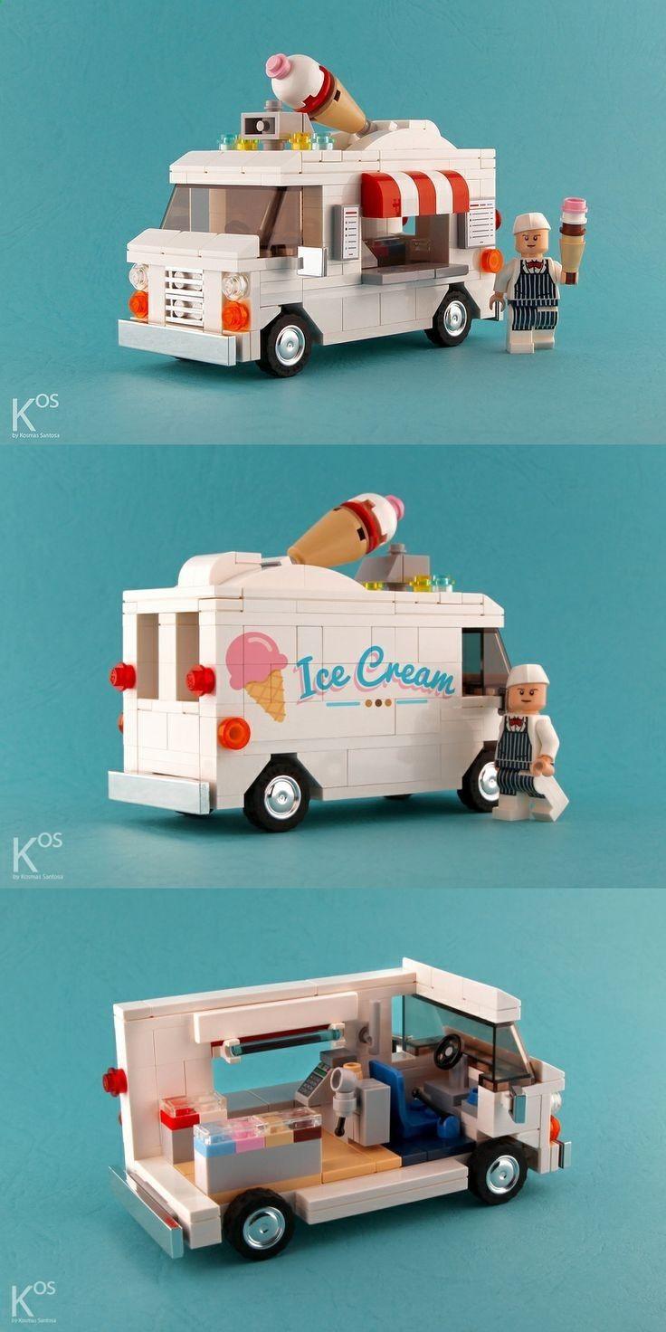 Ice Cream Van - Lego