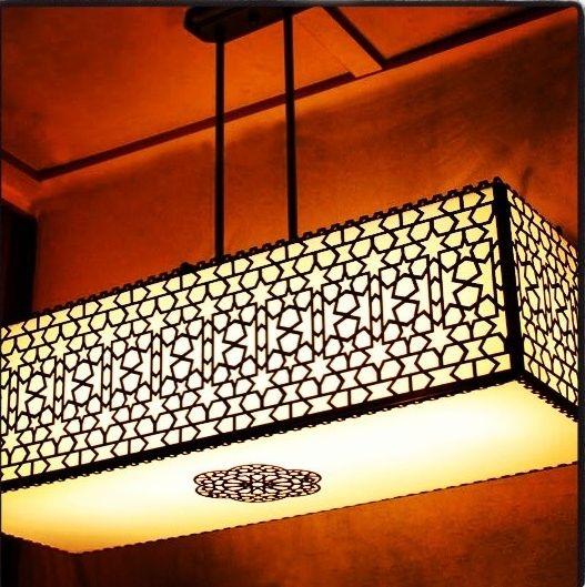 Islamic Lighting Villa Design I In 2019 Wood