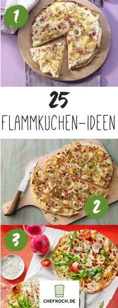 Flammkuchen: knusprige Teigfladen mit delikatem Belag