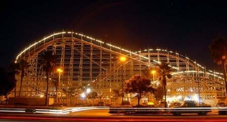 Mission Beach, California. I loved going there and riding the rollercoaster. Then go play in the ocean.