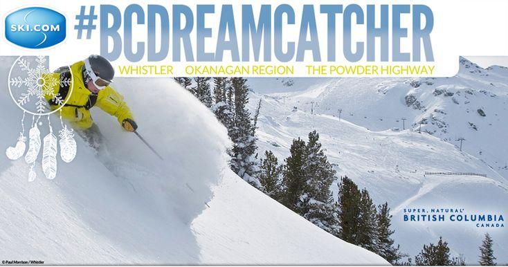 Enter to win three British Columbia ski trips with Ski.com.