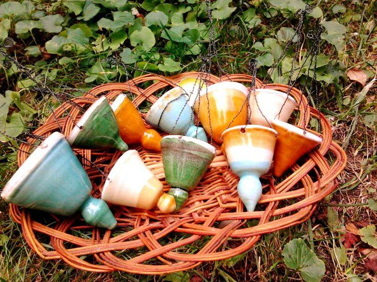 Felfüggeszthető kerti mécsestartók több színben / Suspended candle holders in many colors