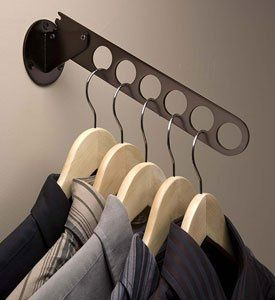Create Convenient Sturdy Hanging Storage For Clothes Hangers With The Wall  Mount Oil Rubbed Bronze Hanger Valet.