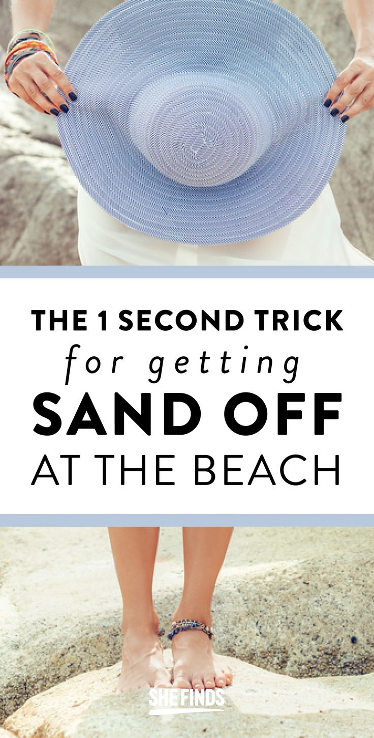 The 1-Second Trick For Getting Sand Off At The Beach