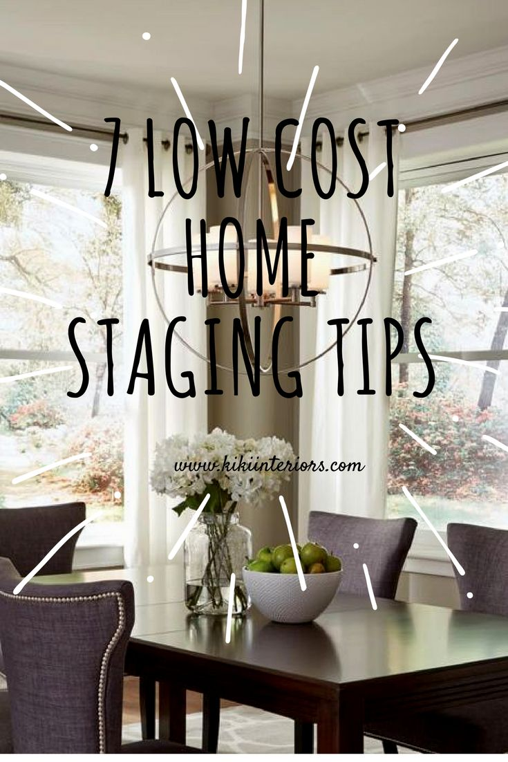 Low Costs Home Staging Tips. You Donu0027t Have To Spend A Lot To