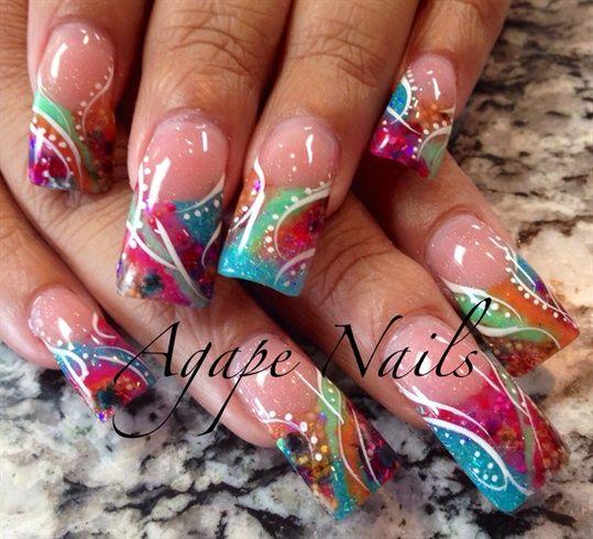 Encapsulation #nailart #bestnails #nails