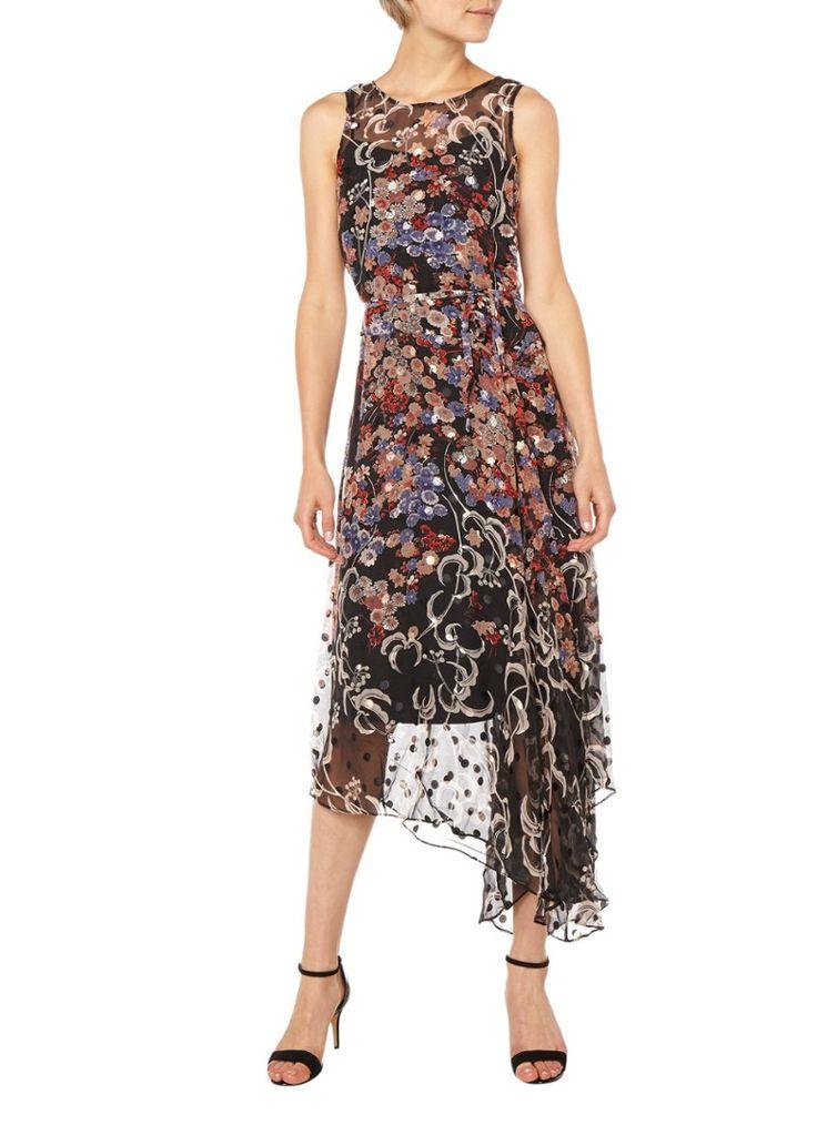 Op zoek naar L.K. Bennett Camille maxi-jurk met bloemdessin ? Ma t/m za voor 22.00 uur besteld, morgen in huis door PostNL.Gratis retourneren.