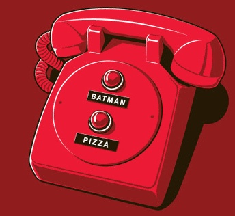 What more do you need? I mean really.and you have batman go get the pizza