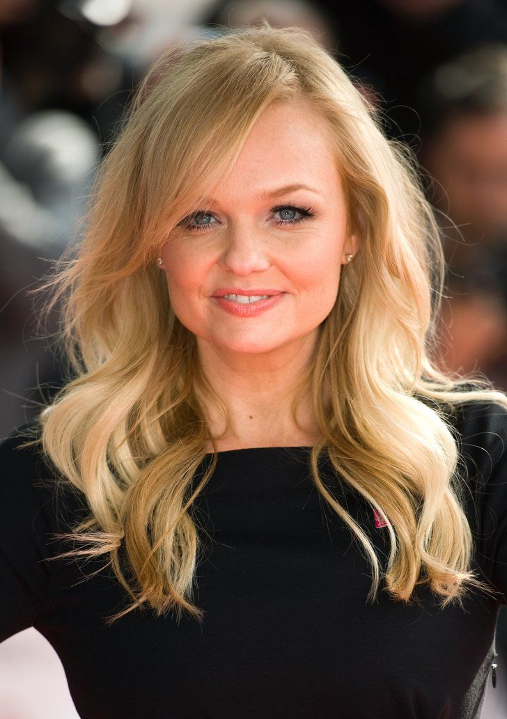 "Pin for Later: We Probably Can't Call Emma Bunton ""Baby Spice"" Any More! Glamorous Waves in 2012"