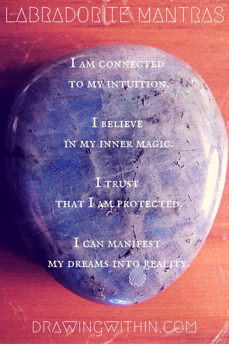 Labradorite Mantra — Drawing Within
