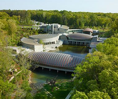 America's Best Small-Town Museums: Crystal Bridges Museum of American Art, Bentonville, Arkansas