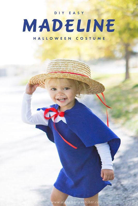 DIY Easy Madeline Halloween Costume