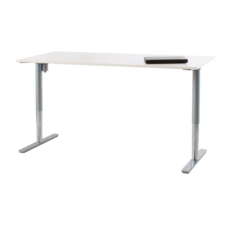 Rise Pro Height Adjustable Desk.   Office furniture with Danish precision and European styling, the Rise introduces a new dimension to commercial height adjustable office desk systems.  Features: - Electric height adjustment - Custom finished 25mm high pressure laminate top, choose from our 16 standard colours - 2 year warranty  Specifications: - Height adjustability: 630mm - 1230mm - Weight load: 90kg