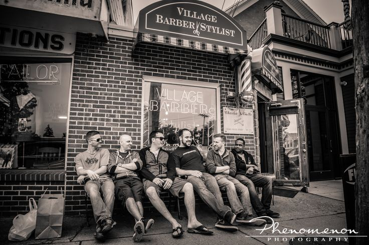 Village Barber Stylist is an absolutely amazing place for the groomsmen and the groom in the morning. Prep ideas for the groom!  #buffalo #buffalove #buffaloweddings #phenomenon #phenmnn #barber