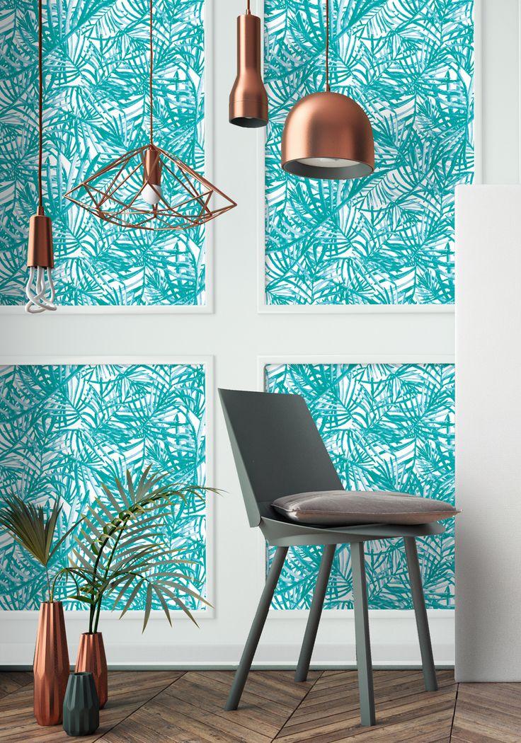 les 8 meilleures images du tableau jungle by papermint sur pinterest papier peint jungle. Black Bedroom Furniture Sets. Home Design Ideas