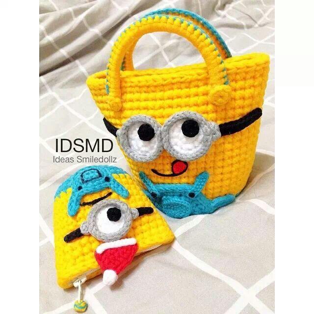 1000+ ideas about Minion Bag on Pinterest Crochet ...