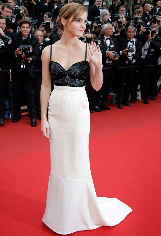 Emma Watson Chanel haute couture Cannes