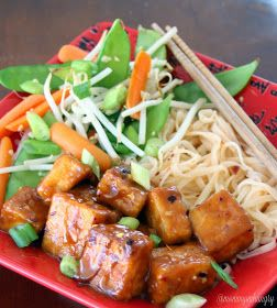 MIH Recipe Blog: General Tso's Tofu | Fuuuuud | Pinterest