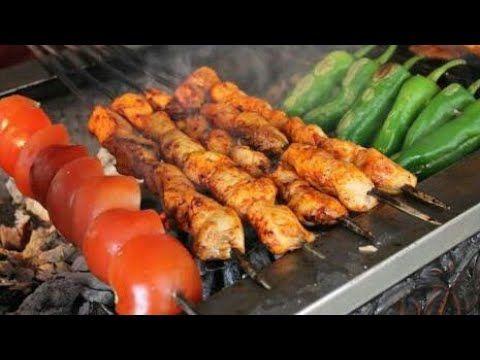 Mangalda, marine edilmiş tavuk şiş (inanılmaz lezzetli) - YouTube