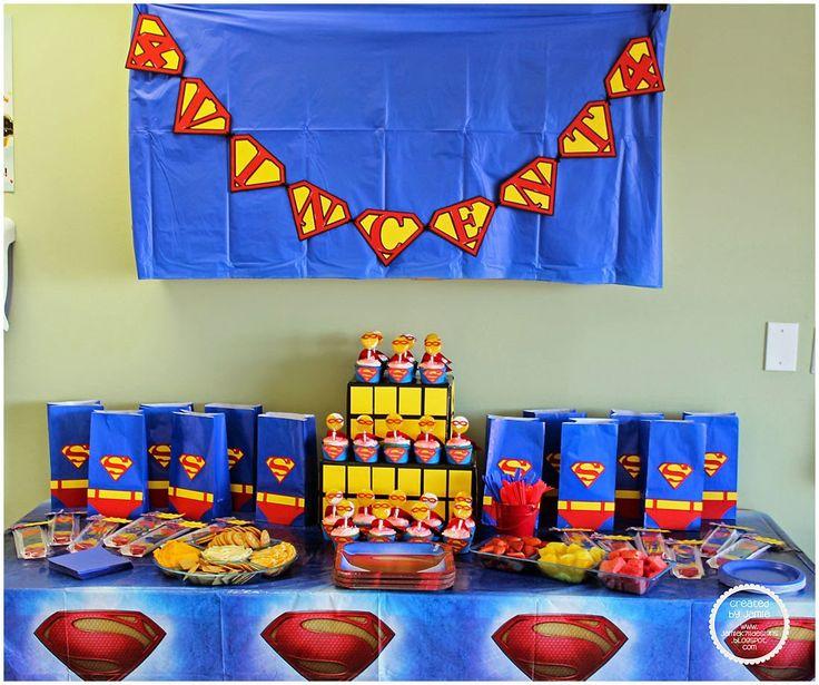 25 Best Ideas About Superman Party Decorations On Pinterest