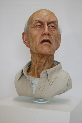 Escultura Hiperrealista de Jamie Salmon, o cara é um absurdo.: Hyper Realistic Sculpture, Artists Extraordinair, Amazing Hyperrealist, Hyperrealist Sculptor, Hyperrealist Sculpture, Hyperrealist Art, Jamie Salmon, Escultura Hiperrealista, Artists Sam