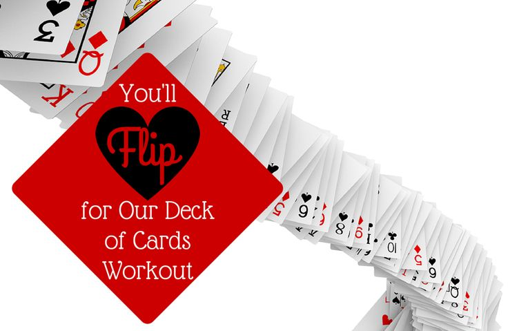 Ace Your Next Workout with a Deck of Cards via @SparkPeople