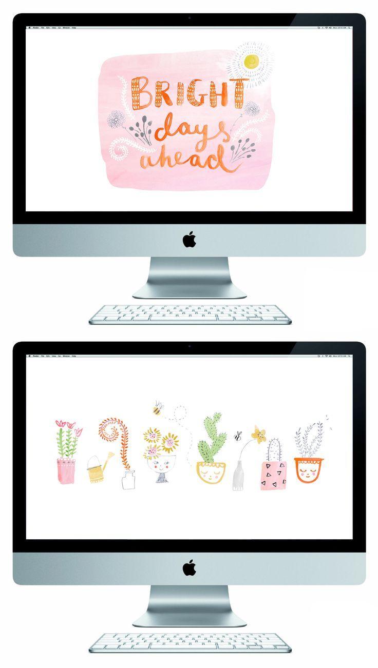 Spring desktop wallpapers || The Lovely Drawer