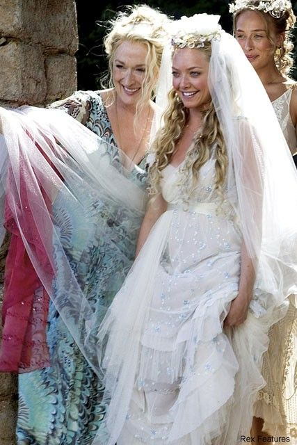 wedding dresses mamma mia wedding dress mama mia wedding movie wedding