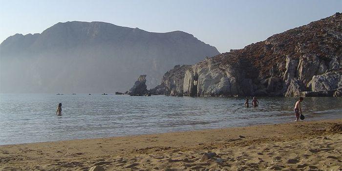 Пляж Псили Аммос