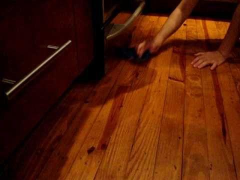 Limpiador Casero Para Pisos de Madera - YouTube