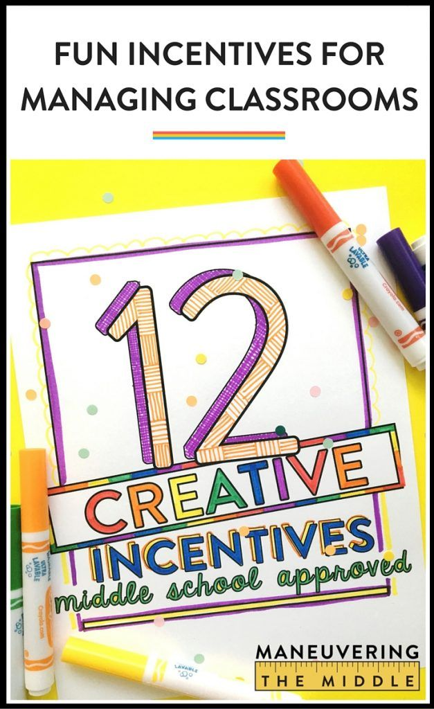 Student rewards don't have to be expensive or complicated! Incentives for middle school students just have to be fun and consistent. Perfect for PBIS! |maneuveringthemiddle.com
