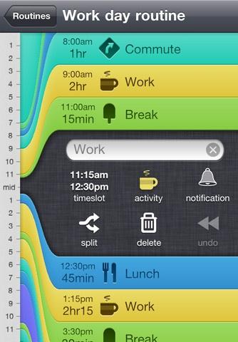 Daily Routine / #app #iPhone / Jaysen Marais: Ui Design, Colors Webapp, Website, Gorgeous Ui, App Ui, Interface Design, Daily Routines, Random Pin, Routines App