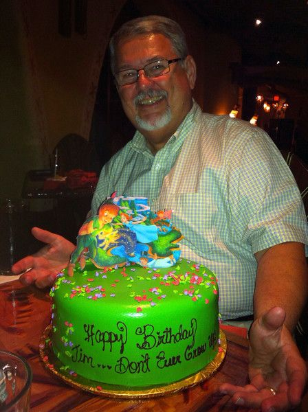 Pan birthday cake - specialty order from the cake hotline at Disney ...