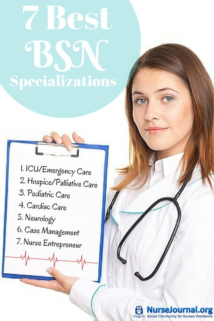 There are so many nursing specialties to pick from it's get an idea of which ones are the best. This is a great resource with 7 of the Best BSN RN Specializations nursejournal.org/...