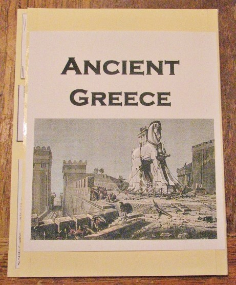 Free Historical Greece Lapbook