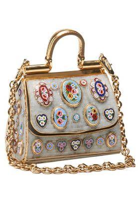 Dolce & Gabbana So pretty, reminds me of a Fabergé egg.
