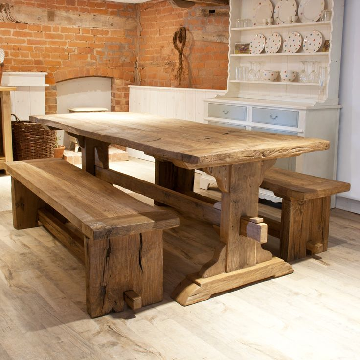 Kitchen Crashers Reclaimed Wood Table