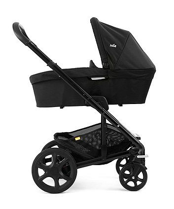 £270 The Joie Chrome Plus Pushchair is suitable from birth and features a reversible seat unit. Combine with the Chrome Plus Carrycot and Gemm Car Seat to create a handy Travel System.
