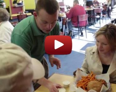 Restaurant owner with down syndrome runs the friendliest eatery ever