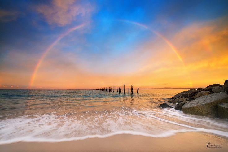 Old Pier Beach, Bridport. #bridport #beaches #tasmania #discovertasmania Image Credit: Jason L. Stephens (Photography)