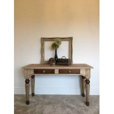 Wooden Two Draw Sideboard
