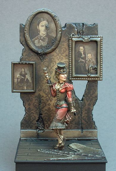 Lovecraftian Jen  Paintrix Miniatures, online portfolio of Jen Haley