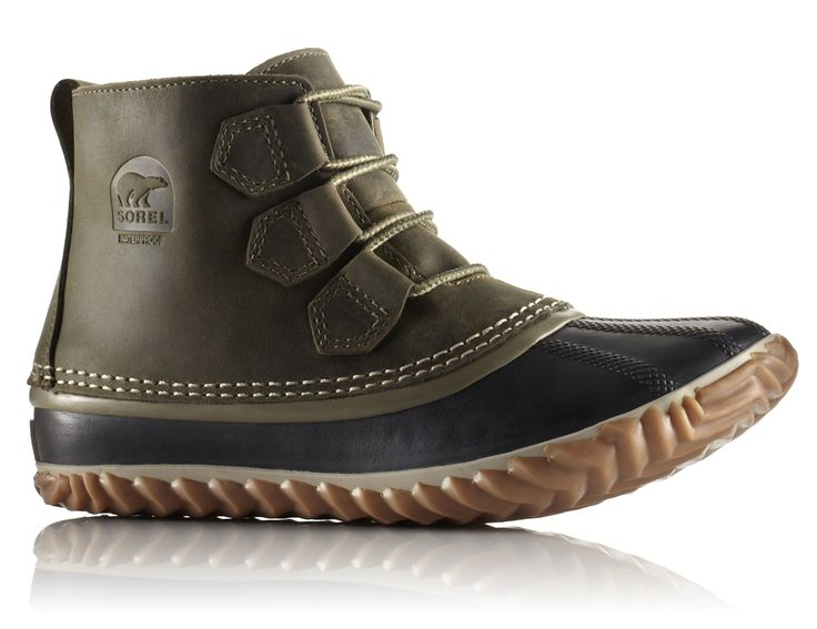 Sorel Out and About Leather Boot - Womens and other Sorel Womens Winter Boots & Shoes at Jans.com