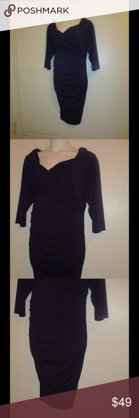 PURPLE BODYCON DRESS BY LANE BRYANT * 24 * BRAND NEW;  PURPLE BODYCON DRESS WITH CONTROL TECH IN SIZE 24, THIS DRESS ENHANCES ALL YOUR CURVES. PLEASE FEEL FREE TO ASK ANY QUESTIONS YOU MAY HAVE AND I WILL REPLY WITHIN 48 HOURS. PLEASE NOTE: INTERNATIONAL SHIPPING IS NOT AVAILABLE. PLEASE LOOK AT MY CLOSET TO BUNDLE THIS GREAT DEAL. THANKS FOR LOOKING! Lane Bryant Dresses Midi
